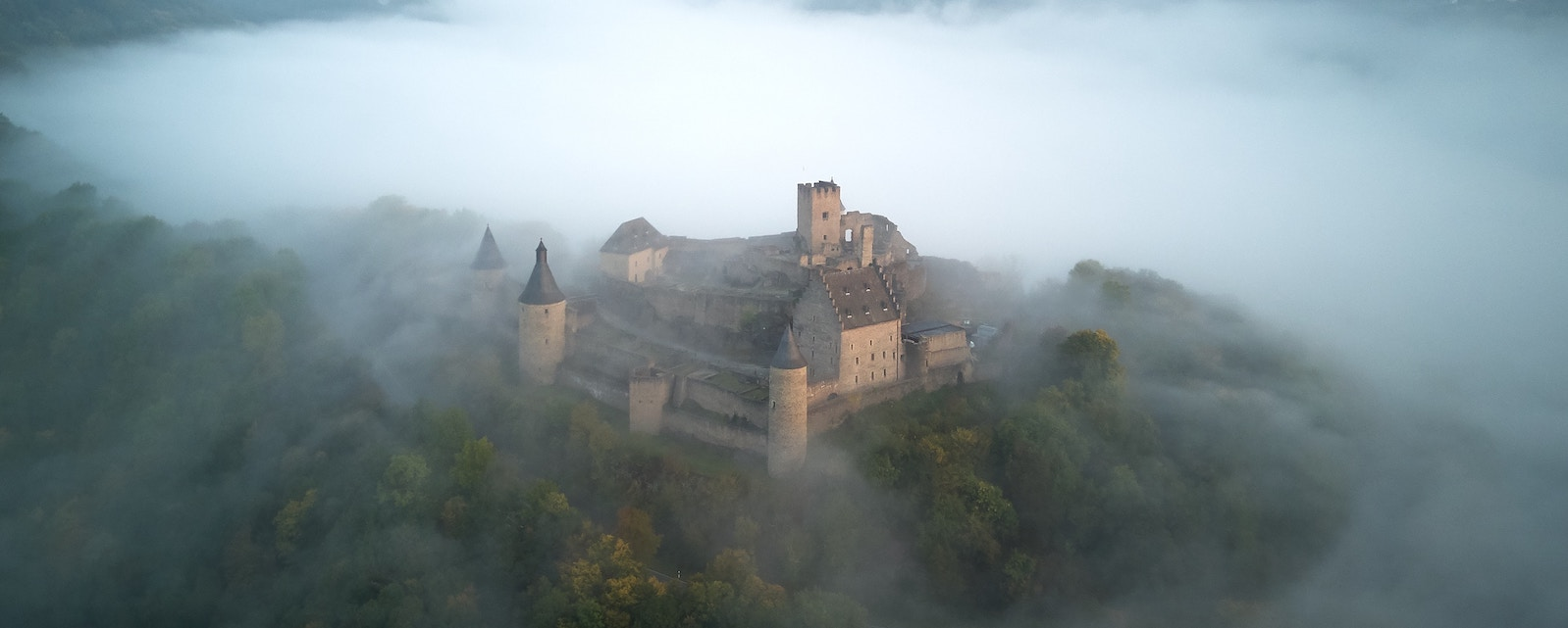 Castle in the mist - Love Beyond Words