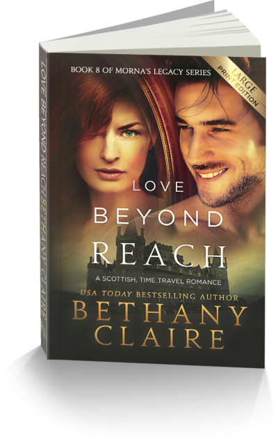 Love Beyond Reach Large Print Edition